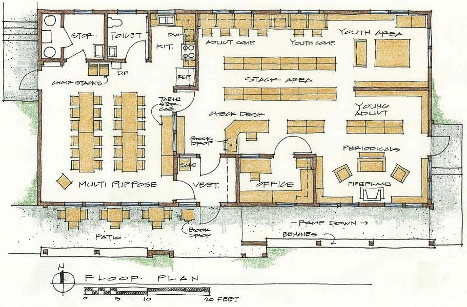 28+ floor plan of library floor plans university libraries w.