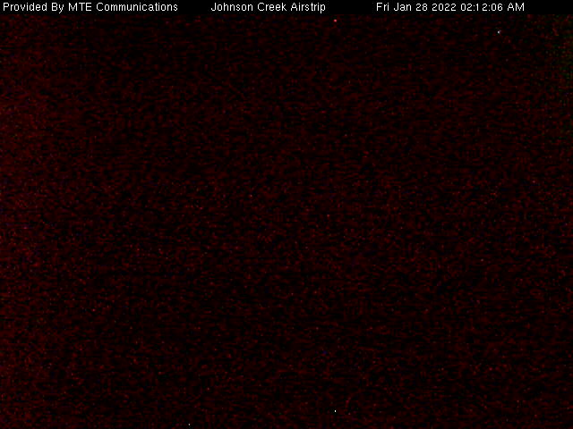 Johnson Creek Airstrip WebCam